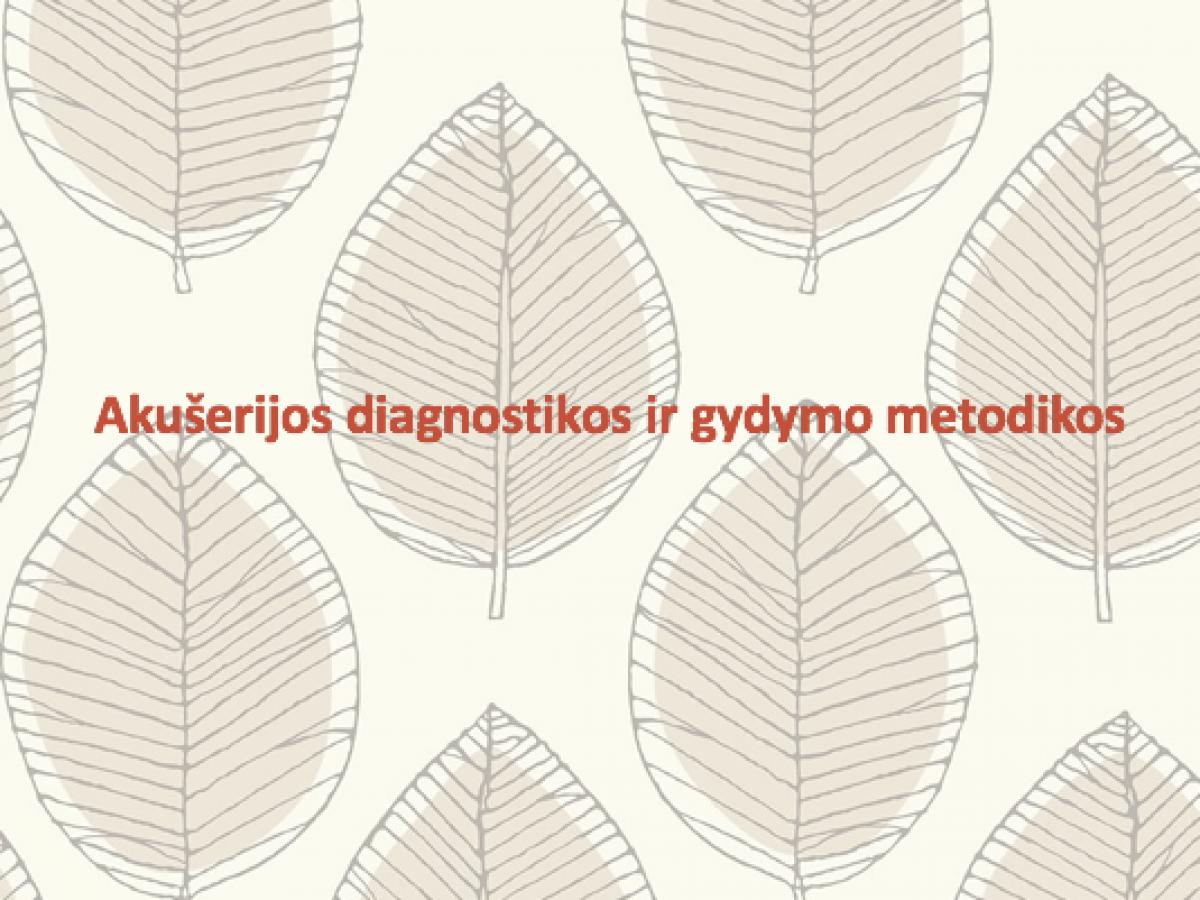 gimdos kaklelio hipertenzijos gydymas